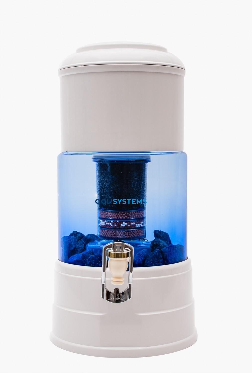 AQV 5 waterfilter van glas