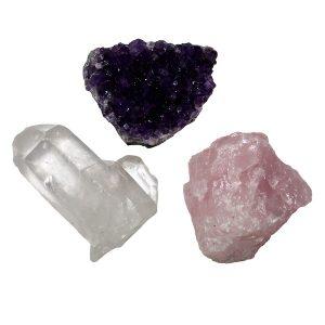 De drie eenheid stenen